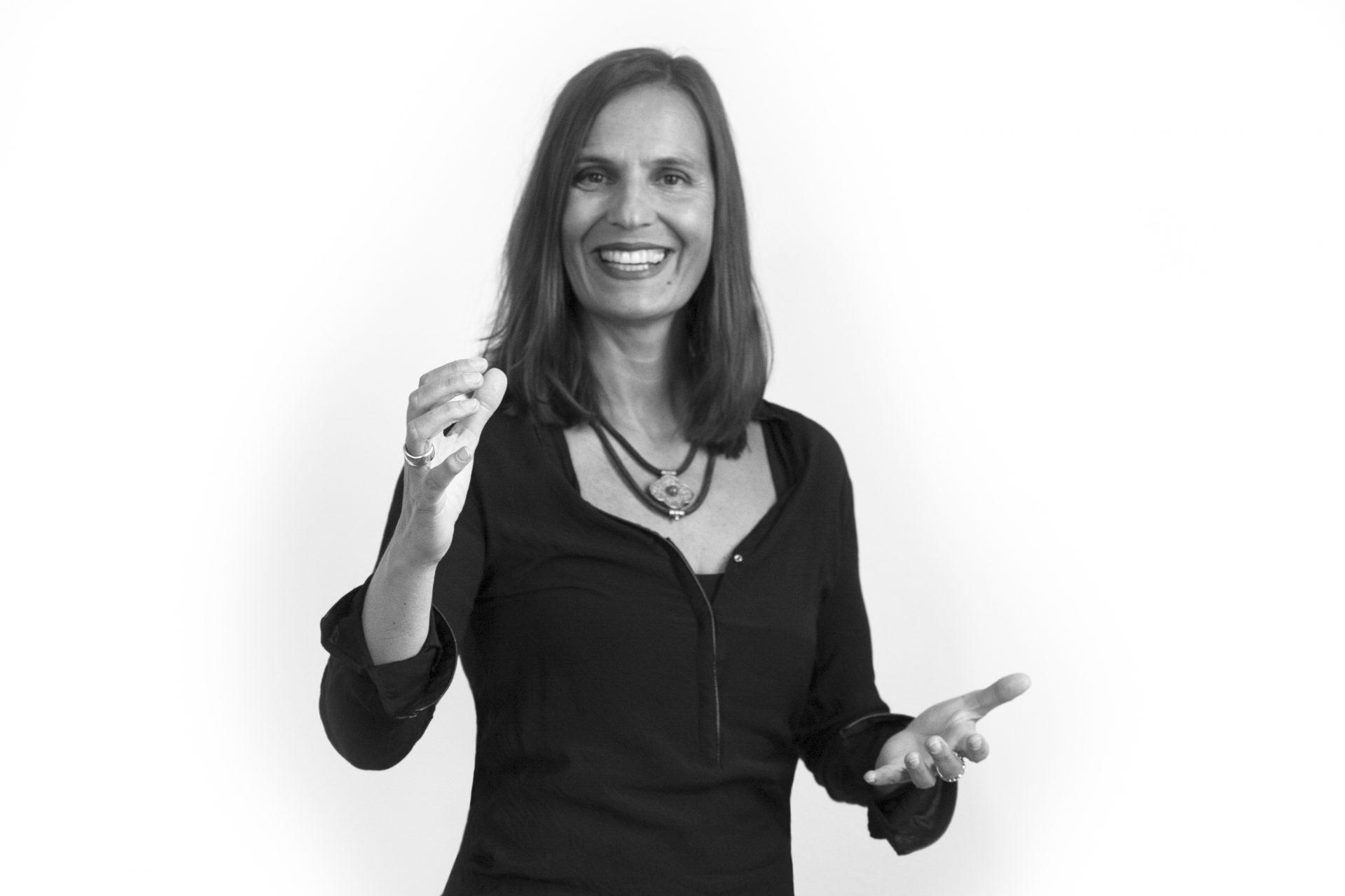 Sanne Stria, Logopädie und Sprachtraining. Porträt