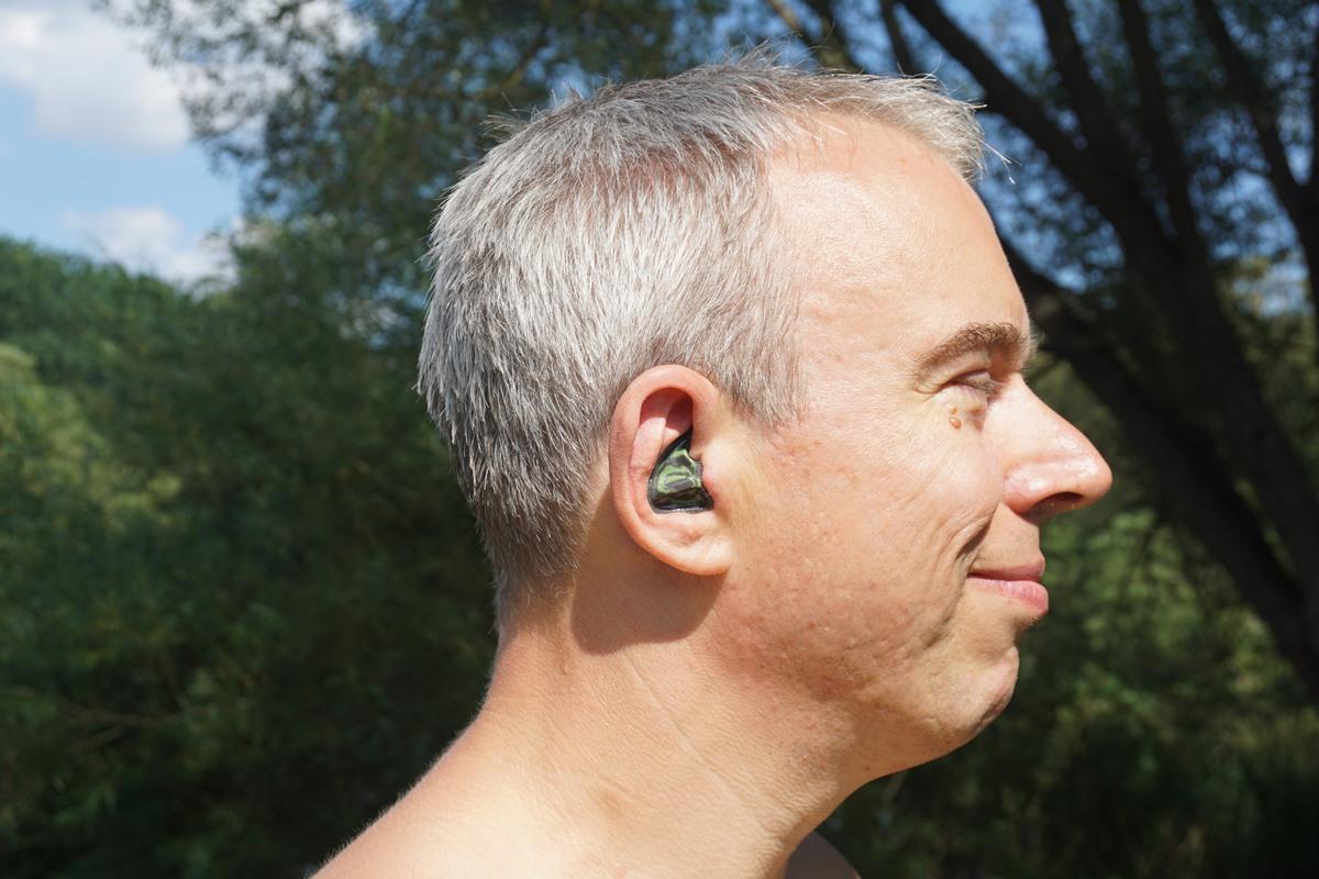 Professioneller Gehörschutz wird von Hörgerätefirmen angepasst.